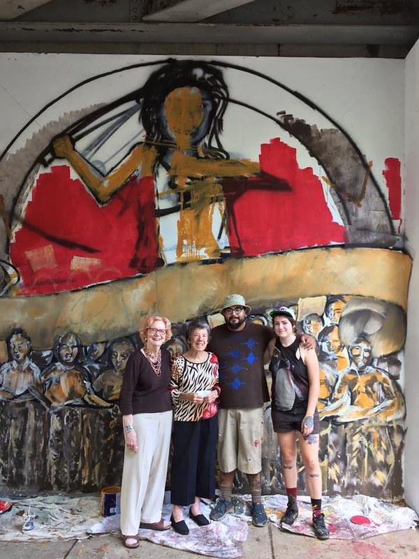 Little Rock,AR 2016 Peace Week Mural Project (7)