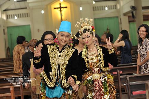 Church Wedding Photo by Poetrafoto Indonesia Photographer by POETRAFOTO - Fotografer Yogyakarta Indonesia