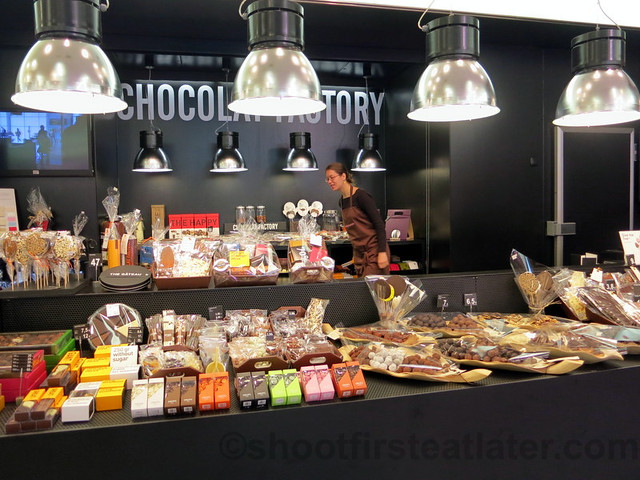 supermarket in San Sebastian- chocolate factory