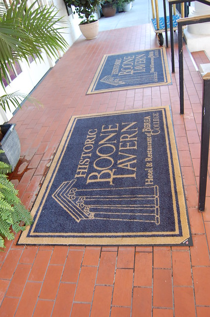 welcome mats at the inn