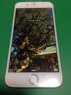 148_iPhone6Sのフロントパネルガラス割れ