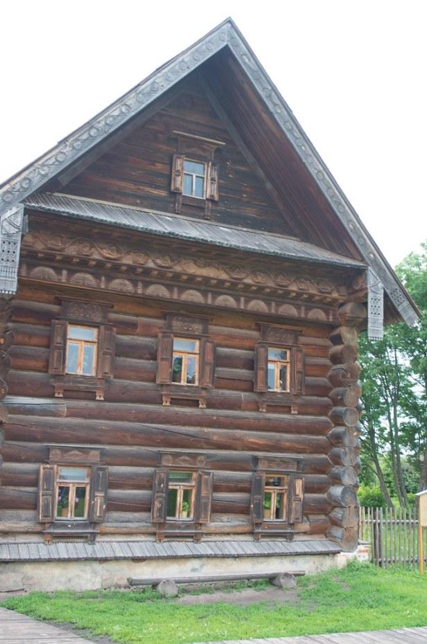 Дом зажиточного крестьянина из деревни Лог Вязниковского района