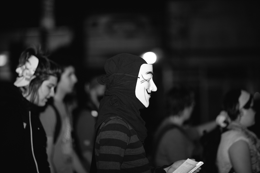 128e manifestation nocturne [Photos Thien V]