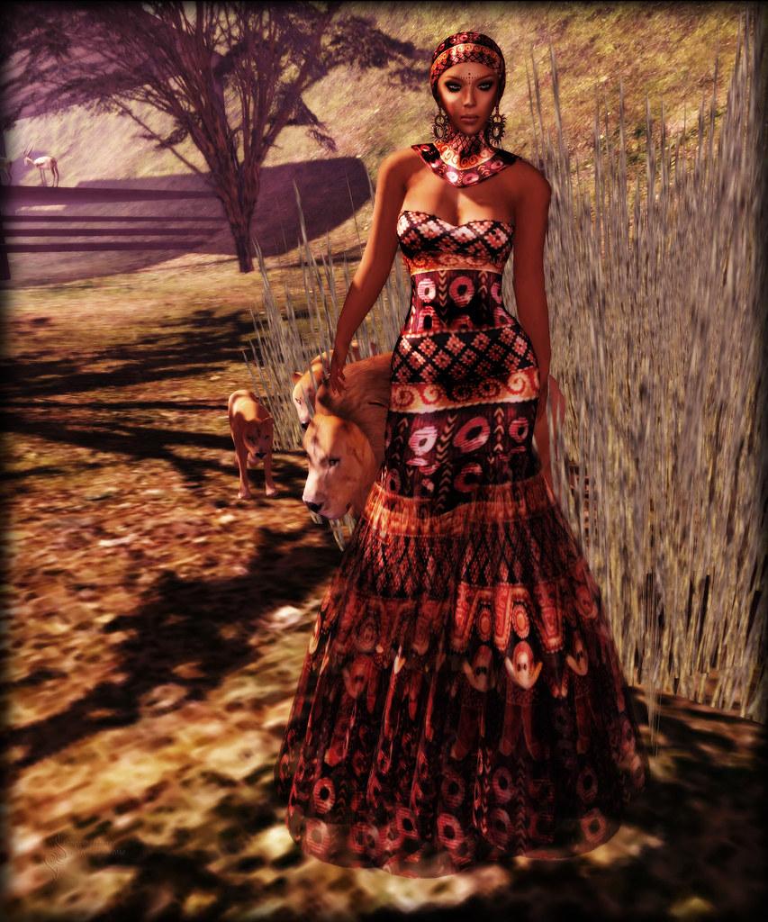 The Garment Rack:  Masai Glam *OC*
