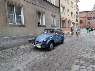 Car in Kazkimierz District