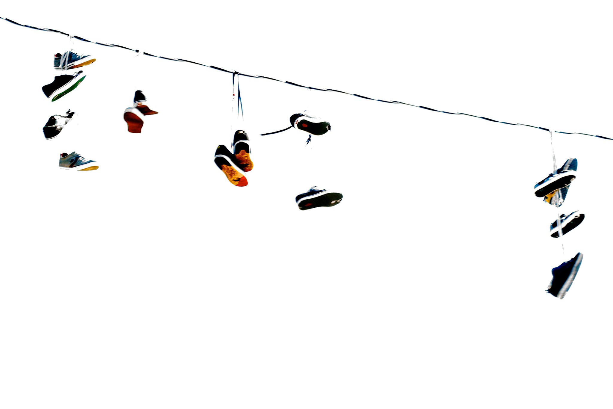 Shoes In A Wire