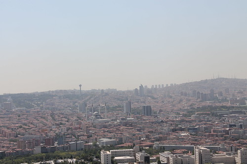 View from Ankara castle