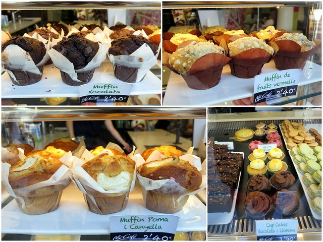 McCafe Barcelona- muffins & cupcakes