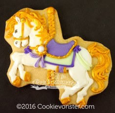 Gold lavender and mint Carousel