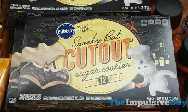 Pillsbury Spooky Bat Cutout Sugar Cookies