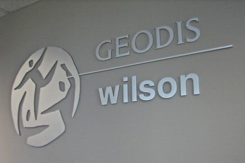 Geodis Wilson interior logo