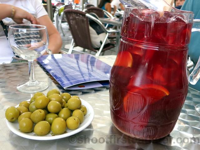 La Muralla Bar Restaurante - sangria €13