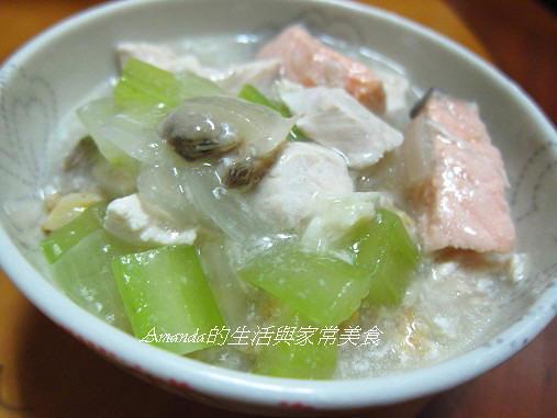 鮮魚蛤蜊燴飯