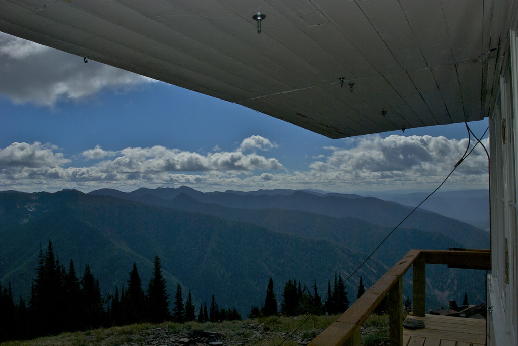 View from Cougar Peak Lookout