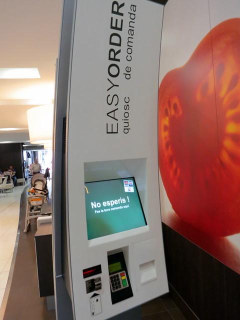 McCafe Barcelona- easy order