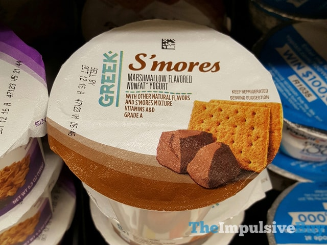 Kroger S'mores Greek Yogurt