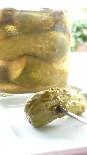 Inlagd gurka - pickled cucumber - cetrioli sott'aceto
