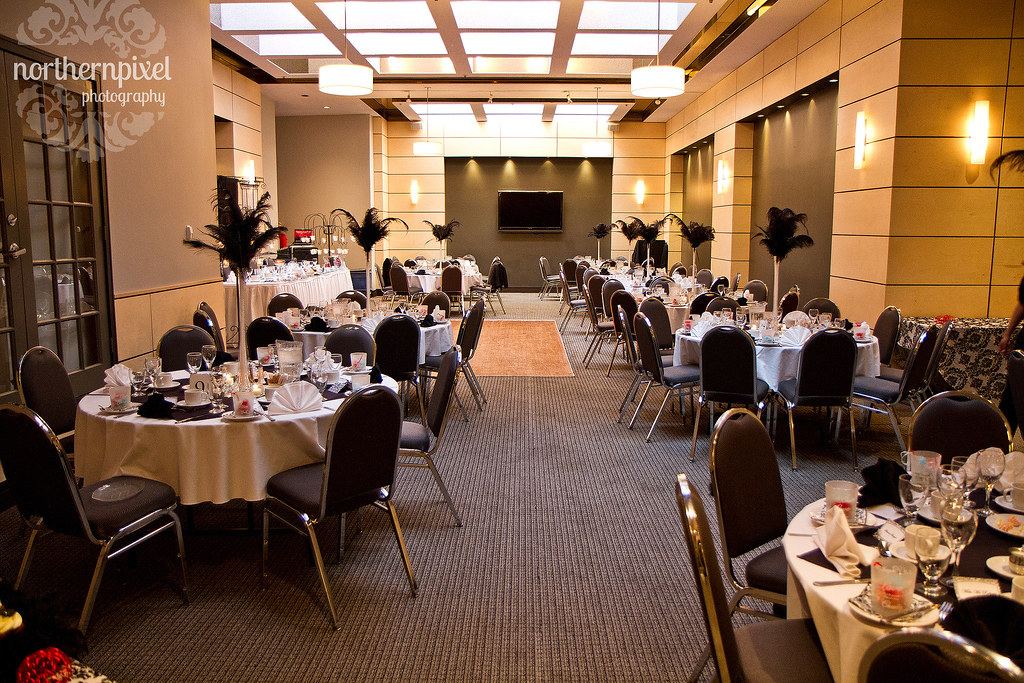 Skylight Room Wedding Reception - Ramada Prince George