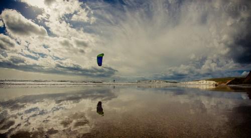 Kitesurfing Fisheye