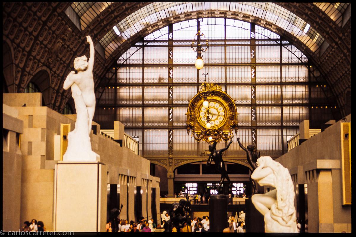 Nave principal del Museo de Orsay
