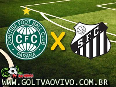 Assistir Coritiba x Santos ao vivo 16h00 Campeonato Brasileiro
