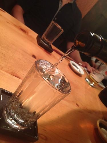 日本酒はだっさいから@すし屋魚真 下北沢店