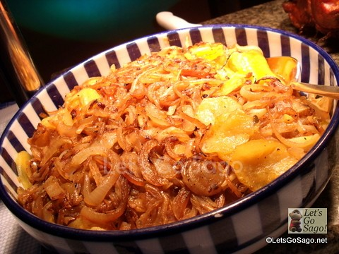 Lyonnaise Potatoes with Onions