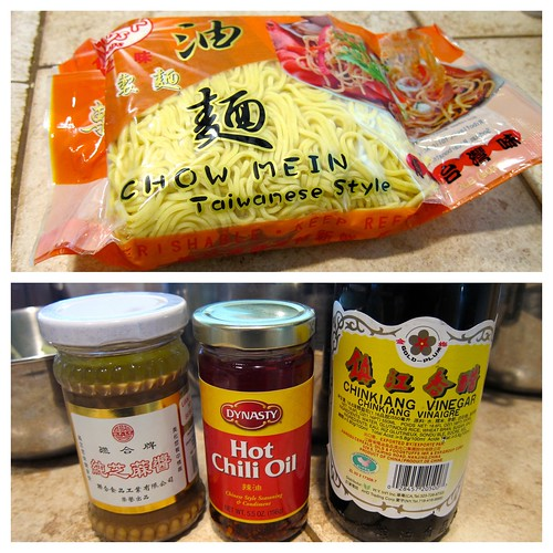 Chow Mein | Sesame Paste | Chili Oil | Black Vinegar