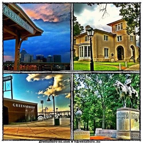 Greensboro, NC Photo Collage by Greensboro NC