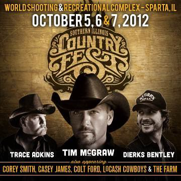 Country Fest Oct 5,6,7