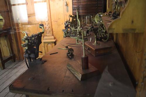 Clockmaker's workshop