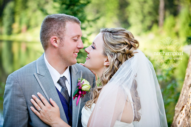 Newlywed Photos - Berman Lake BC
