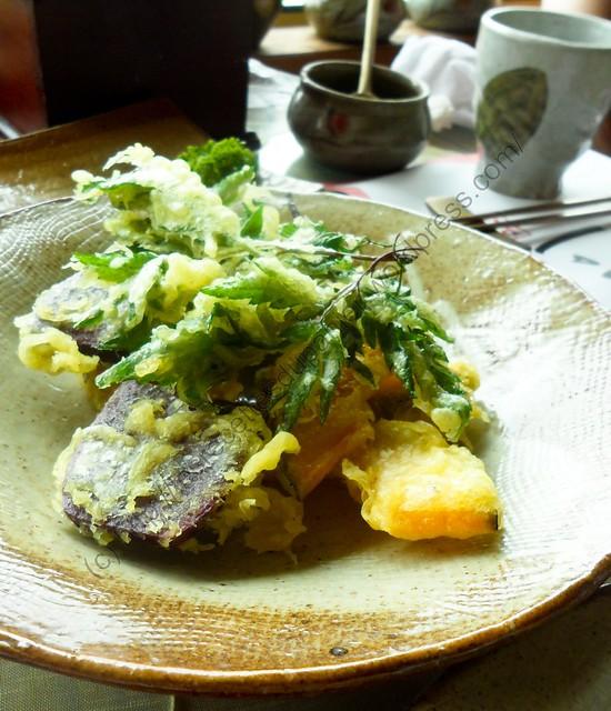 Beignets de légumes / Vegetable Fritter