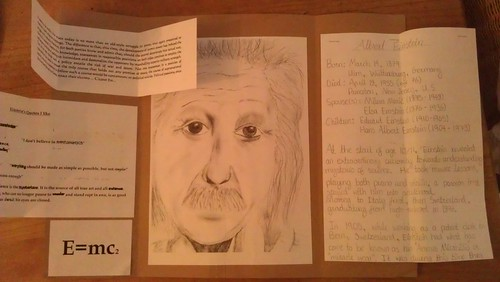 Einstein lapbook