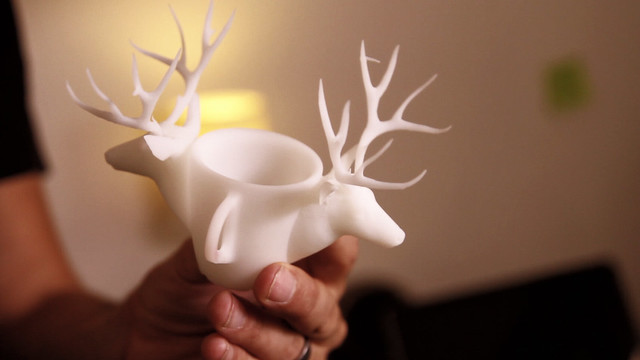 Hold Your Ideas in Your Hands with Shapeways 3D Printing : The Deer Cup