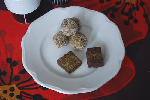 Choklad- och lakritstryfflar by abris2009