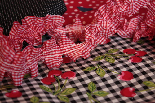 So delighted with this ruffled gingham trim