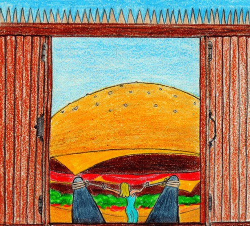 How I met Mrs. GH... by Giant Hamburger