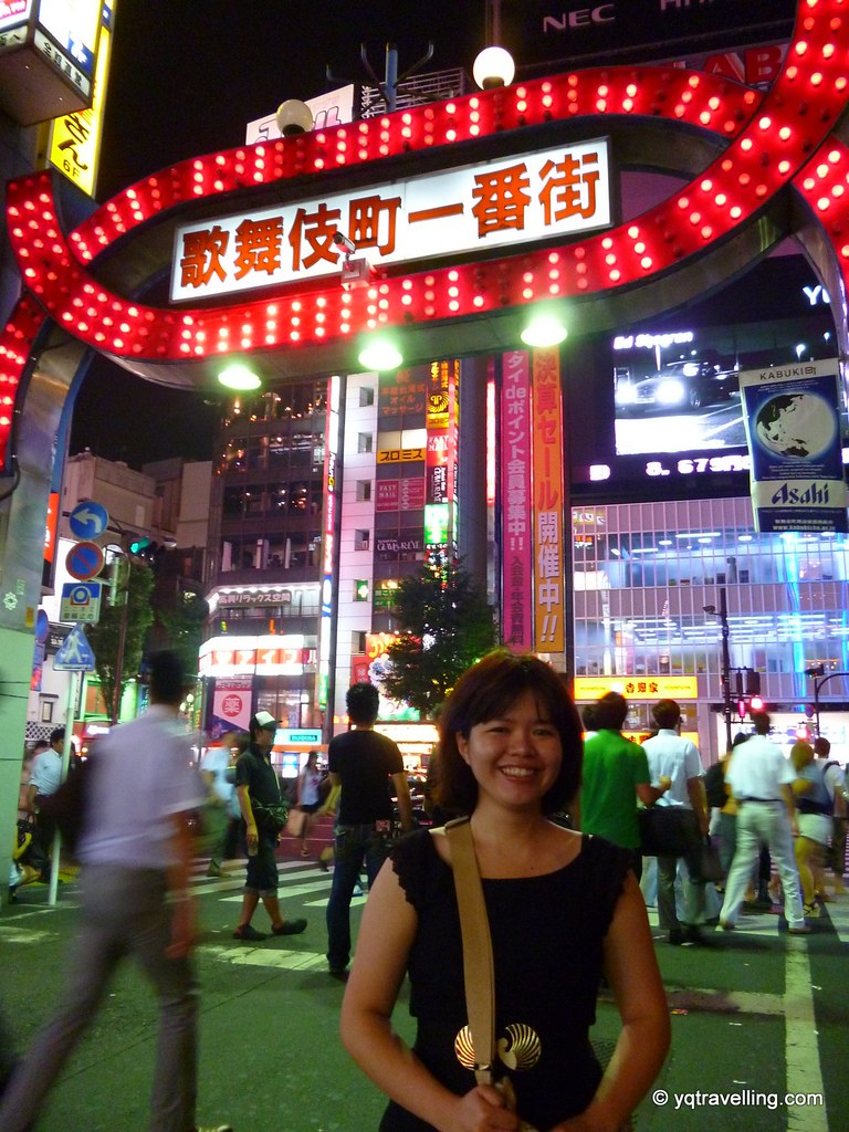 Me in front of the famous Kabuki-cho