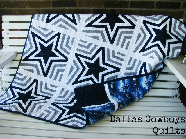 Dallas Cowboys Quilt Title