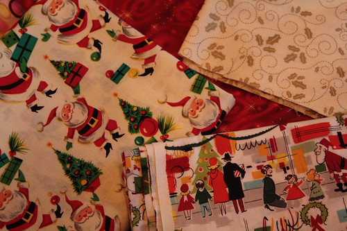 Kitschy Christmas Fabrics