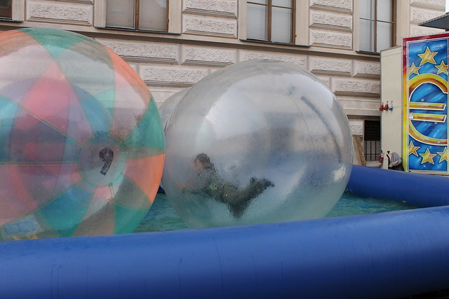 Inflatable Water Balls