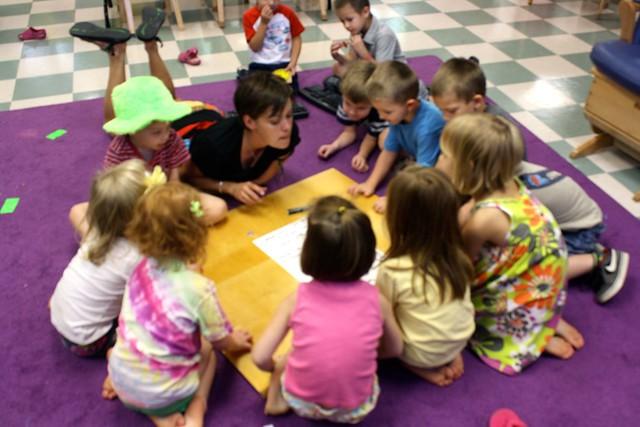 first week of preschool