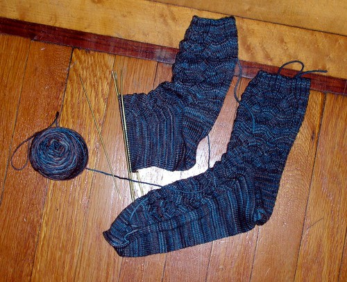 Malabrigo Monkey Socks