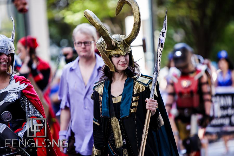 Loki | Dragon*Con Parade 2012 | Atlanta Event Photographer
