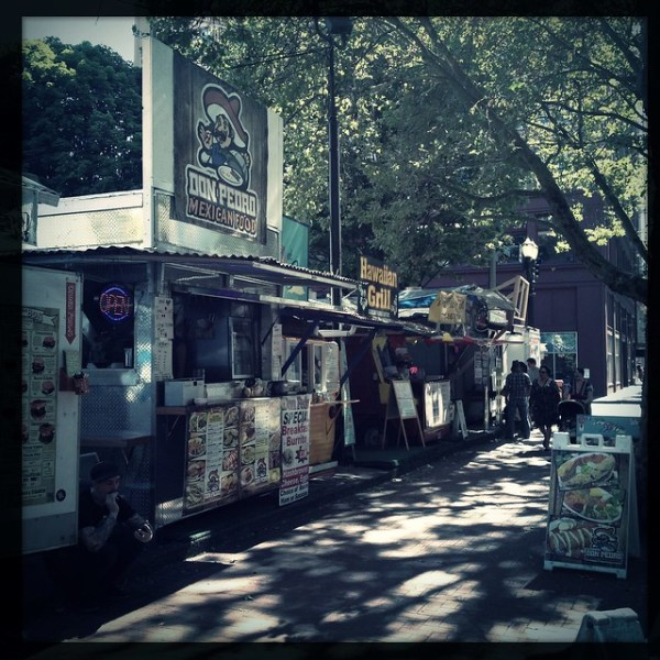So many food trucks!