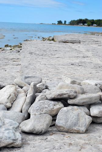 presquile park - rocky beach