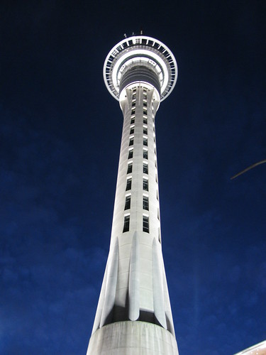 Sky Tower, Auckland by holidaypointau