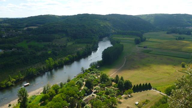Jardins de Marquesyssac, Dordogne, canoe, kayak