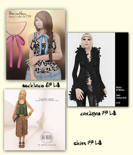 New Collection at TDR Blue